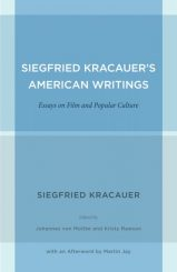 Siegfried Kracauer's American Writings
