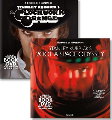 Stanley Kubrick's 2001: A Space Odyssey & A Clockwork Orange. Book & DVD Sets by Alison Castle (ed.) (2019)